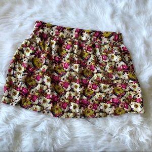 🔥4/$20🔥Royal Love XL Floral Rayon Skirt